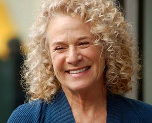 Carole King - King at a ceremony to receive a star on the Hollywood Walk of Fame in December 2012