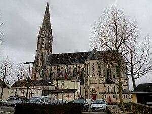 Carquefou - The church of Carquefou