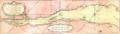 Carte du cours du fleuve de Saint Laurent depuis Quebec jusqu a la mer - Ire Feuille bas.png