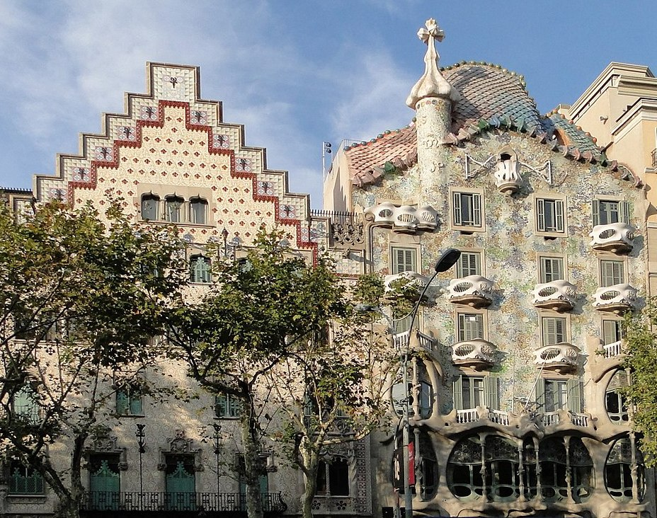 Casa Amatller and Casa Batlló