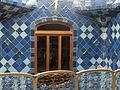 Casa Batlló. Barcelona. Detalle del patio de escaleras ..JPG