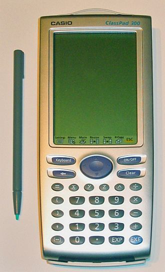 Programmable calculator - Image: Casio Class Pad 300