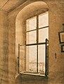 Caspar David Friedrich - Blick aus dem Atelier des Künstlers in Dresden auf die Elbe (linkes Fenster).jpg