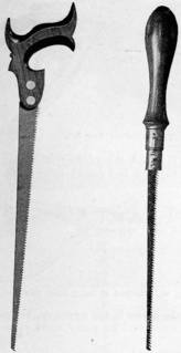 type of saw used for making curved cuts