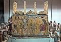 Cassetta porta-ushabty della defunta mut-em-uia, fine XVIII-XIX dinastia.JPG
