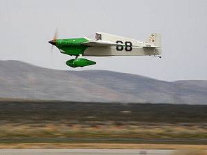 Formula One Air Racing - Cassutt formula one race plane Wasabi