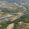 Castagnole delle Lanze, veduta aerea con Tanaro.jpg