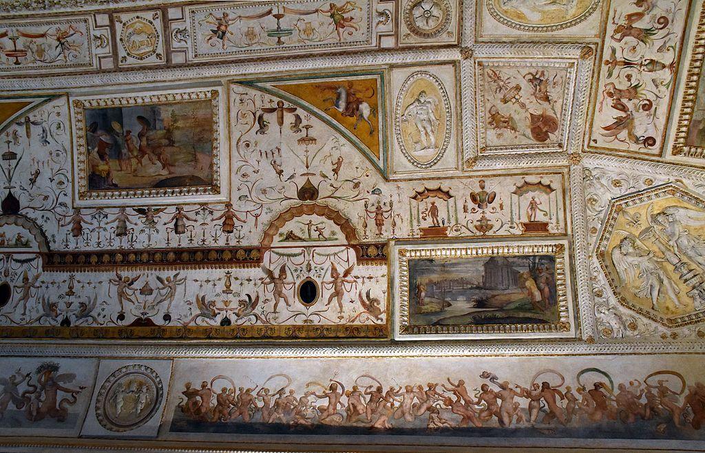 File castel sant 39 angelo sala della biblioteca 13042017 1 - Decorazioni grottesche ...