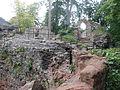 Castell Rhuthun - adfeilion y goresgynwyr (wel o lia fe drion nhw) 02.JPG