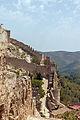 Castell de Xàtiva Porta D'Anibal from Castell Major.jpg
