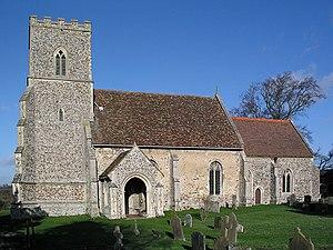 Castle Camps, Cambridgeshire - Image: Castle Camps, All Saints geograph.org.uk 3295
