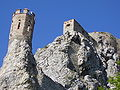 Castle Devin - look from path.JPG