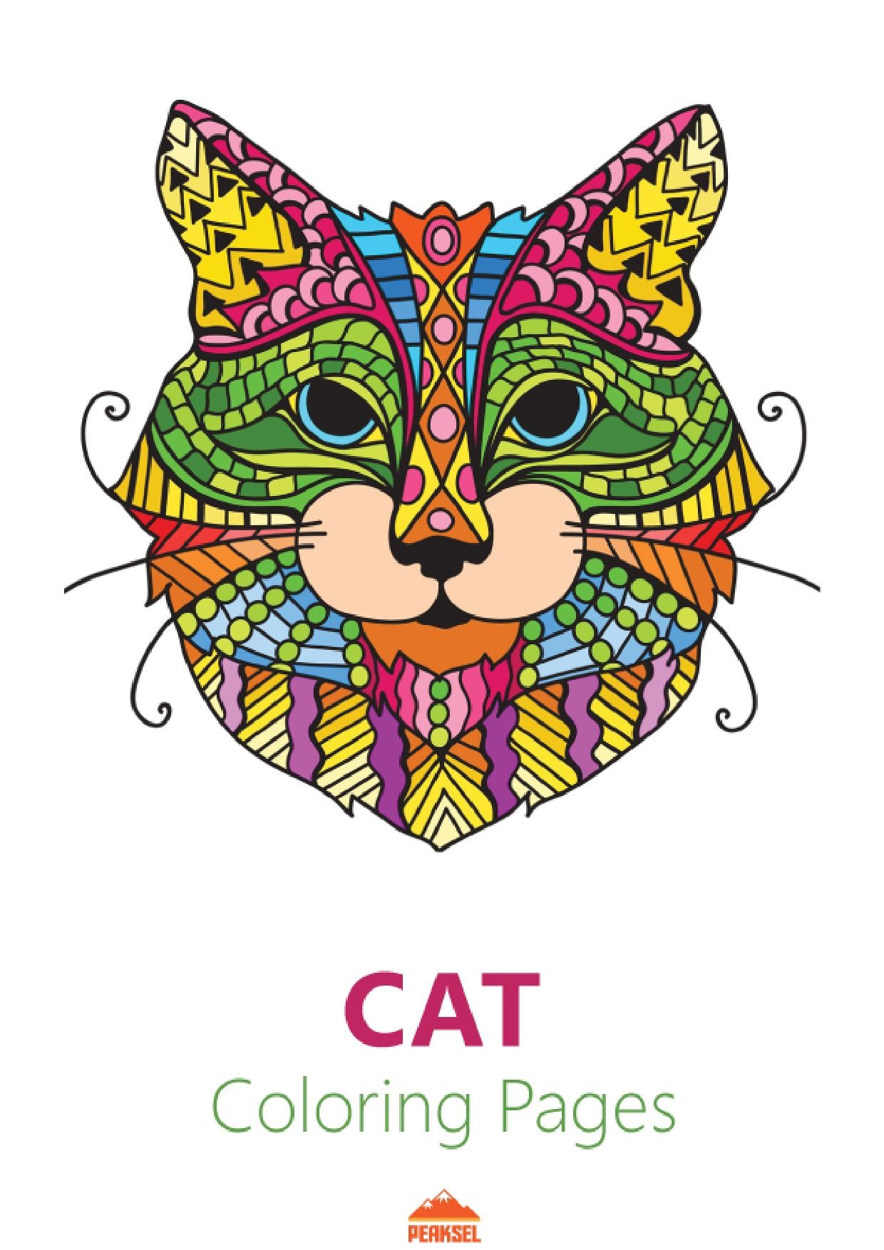 File cat coloring pages for adults printable coloring Coloring book wiki