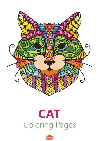 File cat coloring pages for adults printable coloring for Cat head coloring page