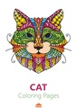 Cat Coloring Pages For Adults - Printable Coloring Book.pdf