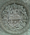 Cemented relief at Dhyana Buddha center in Amaravati.jpg