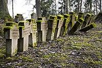 Cemetery of World War I in Auce, Latvia.jpg