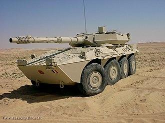B1 Centauro - A Centauro in Iraq