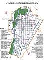 Centro Histórico de la ciudad de Arequipa (mapa).jpg