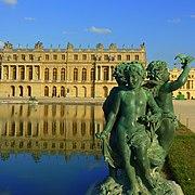 Château de Versailles (vue du parc du château).JPG
