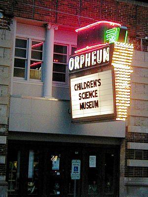 Orpheum Theatre (Champaign, Illinois) - Champaign Orpheum Children's Museum