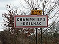 Champniers-Reilhac panneau.JPG