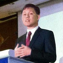 Chan Chun Sing at the We Welcome Families Awards Ceremony - 20130425 (cropped - 02).jpg
