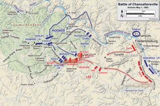 Battle of Chancellorsville - Wikipedia on