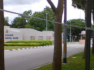 Changi Naval Base - Entrance to Changi Naval Base (CNB)