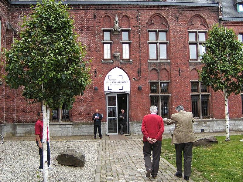 Musée de la Photographie de Charleroi - entrée