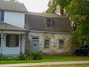 National Register of Historic Places listings in Cecil County, Maryland - Image: Charlestown MD HD stone house