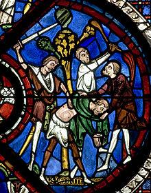 220px-Chartres_Bay_44_Good_Samaritan_Panel_07 allégorie dans Communauté spirituelle