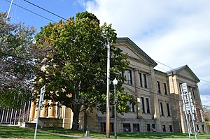 Chautauqua County, New York - Image: Chautauqua County Courthouse, Mayville
