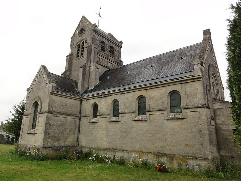 Chavigny (Aisne) église Saint-Marcel