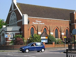 Cheam - Cheam Baptist Church, Cheam Village