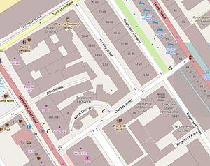 Chenies Street - The immediate vicinity of Chenies Street, London