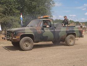 chevrolet cucv m1008 1979