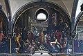 Chiesa di San Zaccaria Venezia - Visita al monastero dell'imperatore Ottone III, nell'anno 1001, accompagnato dal doge Pietro Orseolo II - Giovanni Antono Fumiani.jpg