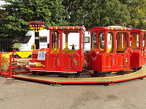 Birkenhead Park - Children's train ride, Birkenhead Park