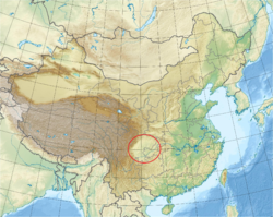 China edcp relief location map Sichuan.png