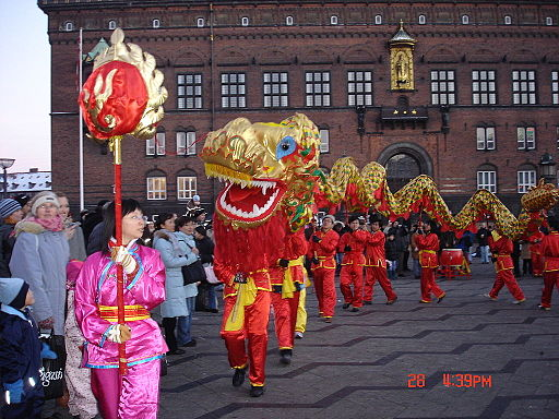 Chinese new year copenhagen 2006