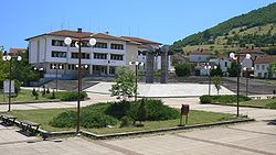 The central square of Chiprovtsi