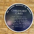 Chislehurst Caves plaque.jpg