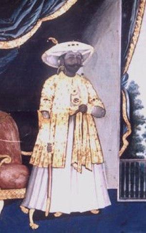 Bhonsle - Shivaji Bhonsle, Raja of Thanjavur