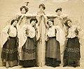 "Chorus members from ""A Yankee Tourist"" (SAYRE 13150).jpg"