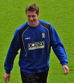 Chris Lucketti - Lucketti with Huddersfield Town in 2008
