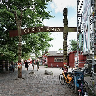 Freetown Christiania - Entrance (Exit)