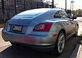 Chrysler Crossfire fastback on Decatur Street in New Orleans - rear.jpg