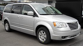 Chrysler Grand Voyager front 20090201.jpg