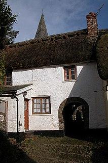 West Worlington village in the United Kingdom